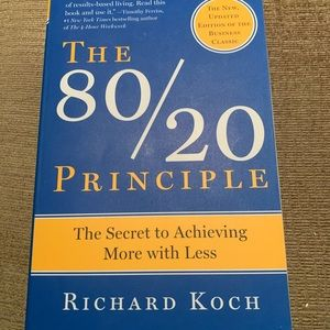The 80/20 book